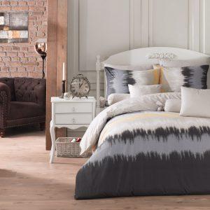 купить Комплект постельного белья Zugo Home ранфорс Vibe V1 Серый фото