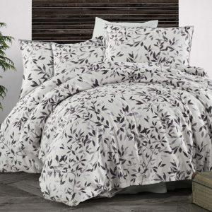 купить Комплект постельного белья Zugo Home сатин Fall V1 Серый фото