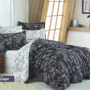 купить Комплект постельного белья Zugo Home сатин Luya V1 Черный фото