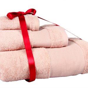 купить Набор Полотенец Euro Set Pink 3шт