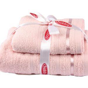 купить Набор Полотенец Nisa 50x90+70x140 Розовый