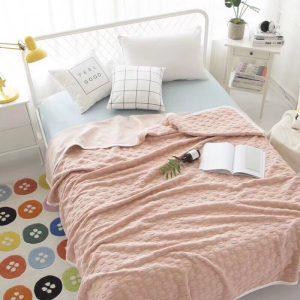 купить Плед-Покрывало Prestij Textile Розовый