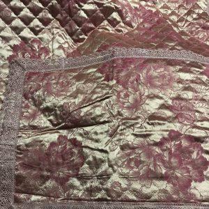 купить Покрывало Жаккардовое Двуспальное Розовый