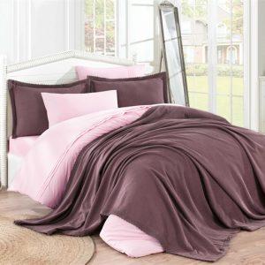 купить Покрывало С Наволочками Hobby Natural Set Фиолетовый