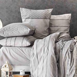 купить Постельное белье с покрывалом Karaca Home Sadra gri 2020-1 Серый фото