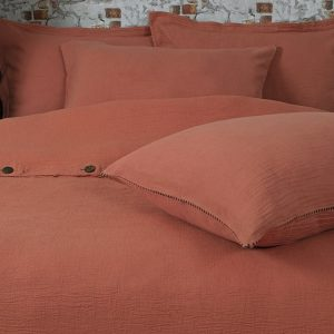 купить Постельное белье Buldans Agora kiremit Оранжевый фото
