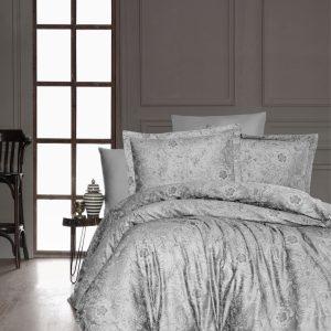купить Постельное белье First Choice сатин люкс advina gri Серый фото