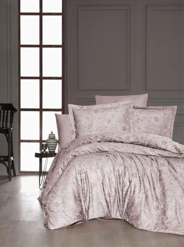купить Постельное белье First Choice сатин люкс advina pudra Розовый фото