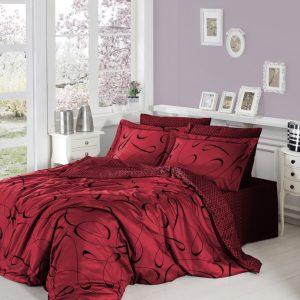 купить Постельное белье First Choice сатин люкс calisto kirmizi Красный фото