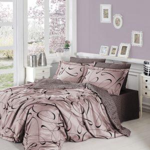 купить Постельное белье First Choice сатин люкс calisto pudra Розовый фото