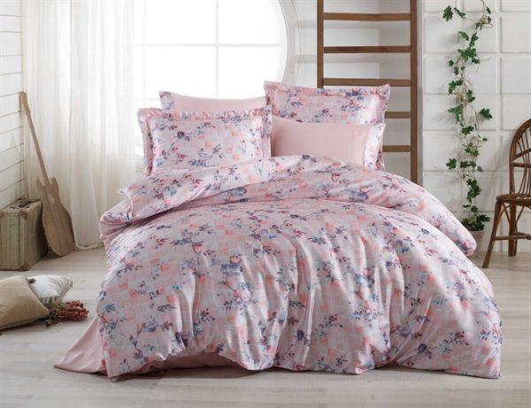 купить Постельное белье Hobby Crash Sateen Isabella Розовый фото