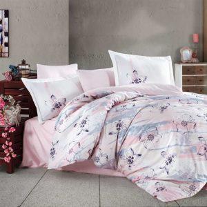 купить Постельное белье Hobby Exclusive Sateen Brisha Розовый фото