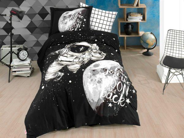 купить Постельное белье Hobby Poplin Galaxy Черный фото