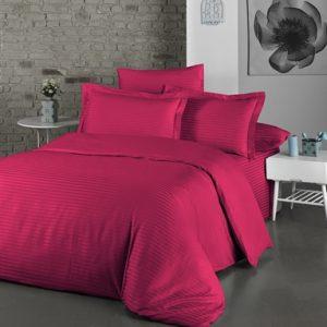 купить Постельное белье Lighthouse Exclusive Sateen Stripe Lux Розовый Розовый фото