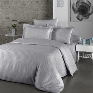 купить Постельное белье Lighthouse Exclusive Sateen Stripe Lux grey Серый фото