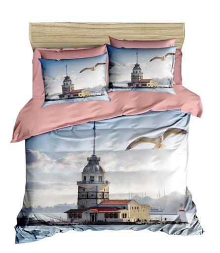 купить Постельное белье Lighthouse Ranforce 3D Lighthouse Голубой фото
