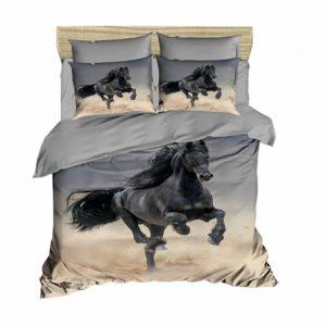 купить Постельное белье Lighthouse Ranforce 3D Mustang Серый фото