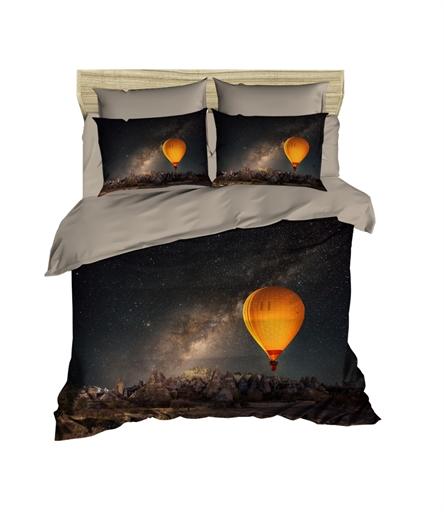 купить Постельное белье Lighthouse Ranforce 3D Night Sky Черный фото