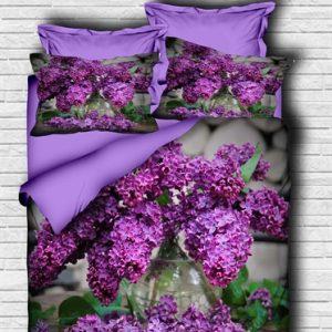 купить Постельное белье Lighthouse Ranforce 3D Purple Lilac Фиолетовый фото