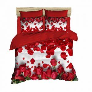 купить Постельное белье Lighthouse Ranforce 3D Red Roses Красный фото