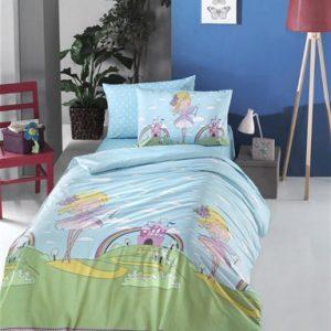 купить Постельное белье Lighthouse Ranforce Fairy Голубой фото
