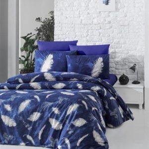 купить Постельное белье Lighthouse Ranforce Feather Синий фото