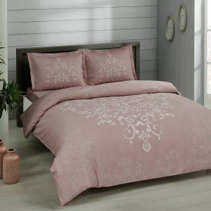 купить Постельное белье TAC сатин Anissa gulkurusu v05 Розовый фото