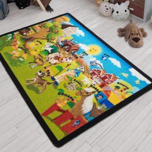 купить Коврик в детскую комнату Confetti Ali Baba Yesil 100x150