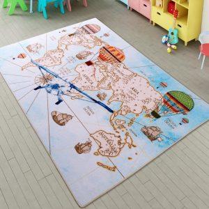 купить Коврик в детскую комнату Confetti Discover A. Mavi 100x150