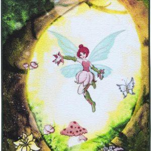 купить Коврик в детскую комнату Confetti Fairy Forest Yesil 100x150