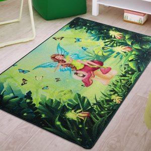 купить Коврик в детскую комнату Confetti Fairy Song Yesil 100x150