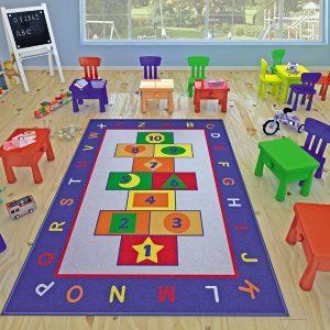 купить Коврик в детскую комнату Confetti Game Mavi 100x150