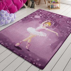 купить Коврик в детскую комнату Confetti Little Ballerina Pembe 100x150