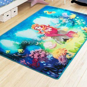 купить Коврик в детскую комнату Confetti Mermaid Mavi 100x150
