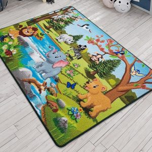 купить Коврик в детскую комнату Confetti Springtime Yesil 100x150