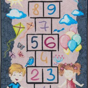 купить Коврик в детскую комнату Confetti Street Game Gri 100x150