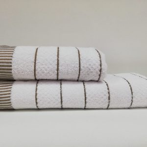 купить Набор полотенец Class HT JDY.009 White Brown