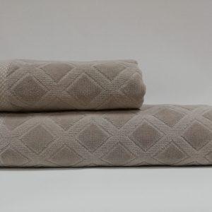 купить Набор полотенец Class Karo Beige
