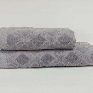 купить Набор полотенец Class Karo Grey