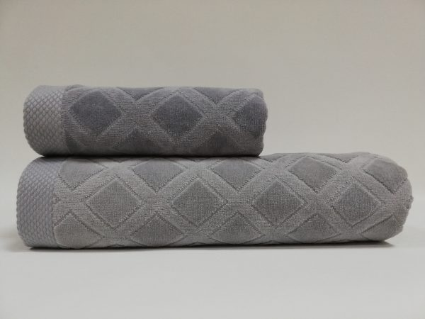купить Набор полотенец Class Karo Grey2