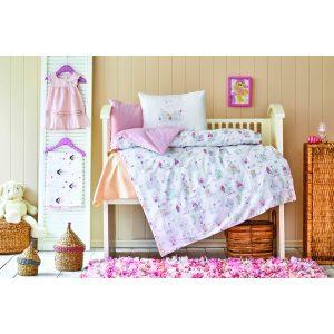 купить Постельное белье для младенцев Karaca Home - Candy pudra 2020-2 Розовый фото