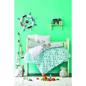 купить Постельное белье для младенцев Karaca Home - Rover mavi 2020-2 Бирюзовый фото