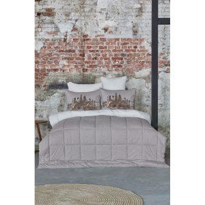 купить Постельное белье с одеялом Karaca Home - Londra bej 2019-2 Бежевый фото