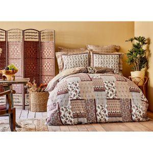 купить Постельное белье Karaca Home сатин - Maryam bordo 2020-2 Коричневый фото