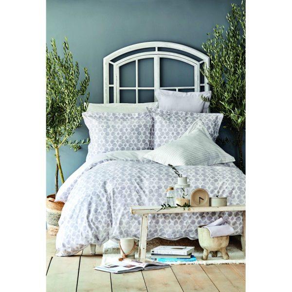 купить Постельное белье Karaca Home - Amanda gri 2020-2 Серый фото