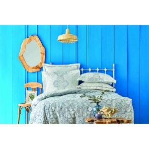 купить Постельное белье Karaca Home - Anemos mavi 2020-2 Голубой фото