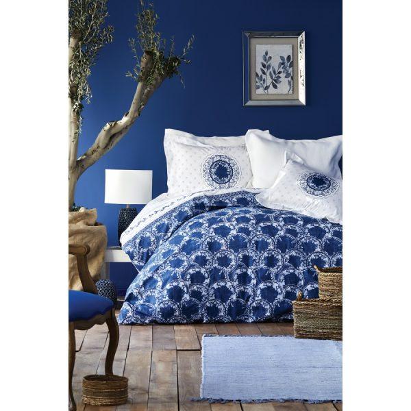 купить Постельное белье Karaca Home - Belina mavi 2019-2 Синий фото