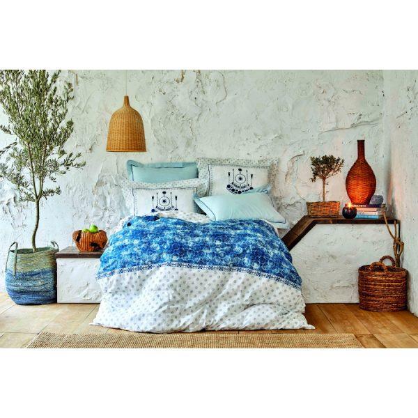 купить Постельное белье Karaca Home - Costa mavi 2020-2 Голубой фото