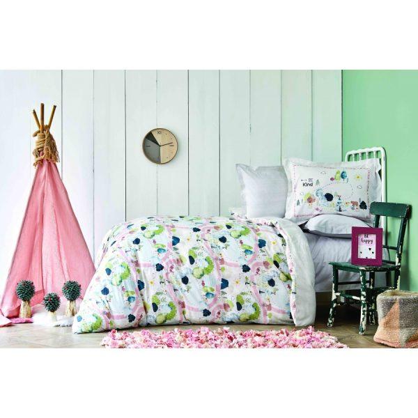 купить Постельное белье Karaca Home - Forest yesil 2020-2 пике Зеленый фото