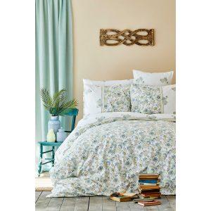 купить Постельное белье Karaca Home - Molly mavi 2020-2 Голубой фото